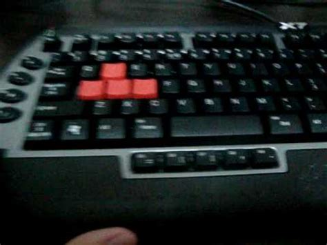 Keyboard Gaming A4tech X7 G800mu Ps2 a4tech kl 126 keyboard doovi