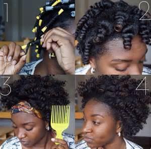 set for black hair hairspiration perm rod set myblackhair