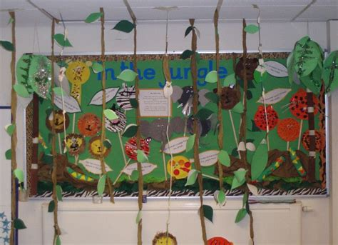Safari Themes Gallery   in the jungle classroom display photo photo gallery