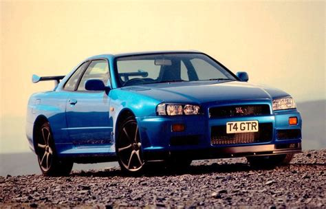 fast and furious nissan skyline nissan skyline r34 gt r fast and furious 4 car