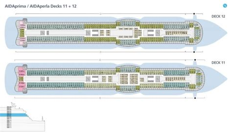aidaprima deck 12 aidaprima kreuzfahrt routen schiffsreise buchen