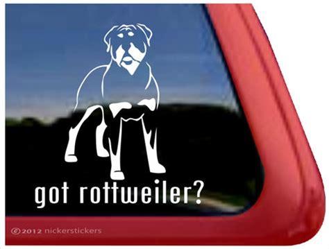 rottweiler decals rottweiler decals stickers 226 nickerstickers