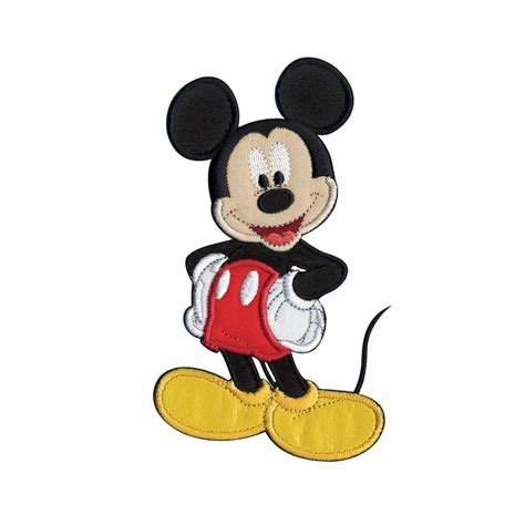 Myu Mickey Buy 2 Get 2 disney mickey mouse sew on applique mickey mouse discount designer fabric fabric
