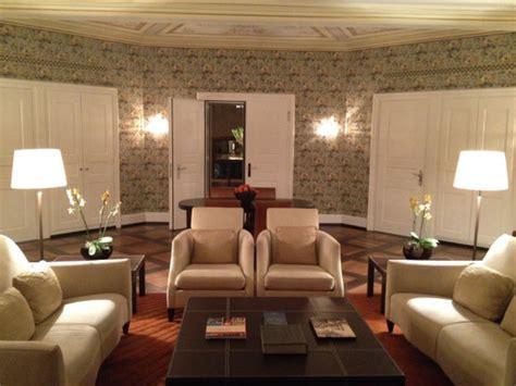 The Living Room Zurich The Dolder Grand Hotel In Zurich