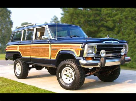 Amc Jeep Wagoneer Cheif Gladiator J10 J20 Tribute