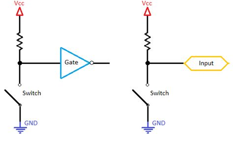 pull up resistor voltage pull up and pull resistors pdf free