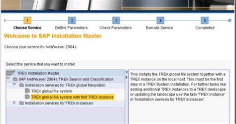 sap trex tutorial sap tutorials sap trex installation with screen shots