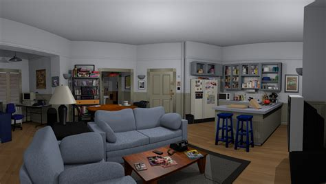 Seinfeld Apartment Viewing Walk Inside Seinfeld S Apartment Courtesy Of Oculus Rift
