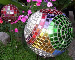 bowling ball mosaic garden art ideas 6 diy for life