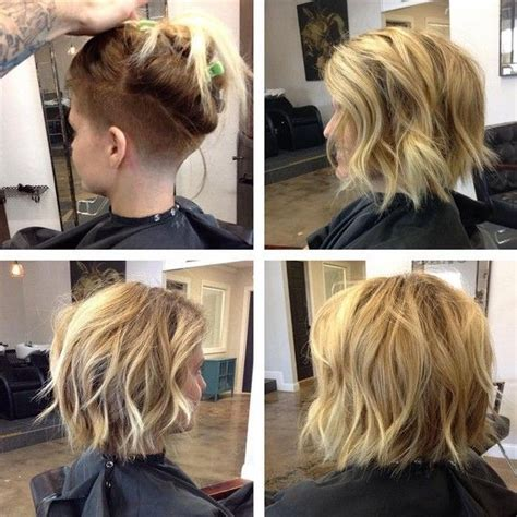 shaving thick hair women 18 short hairstyles perfect for fine hair shaved bob