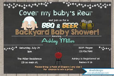 backyard baby shower invitations top 25 best diaper invitations ideas on pinterest baby shower invitations baby