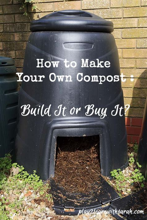 How To Make A Compost Pile In Your Backyard by How To Make Your Own Compost And Thyme