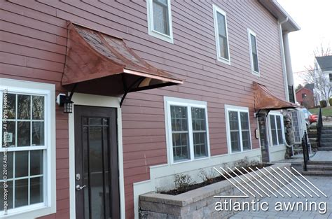 Copper Awning by Copper Standing Seam Atlantic Awning