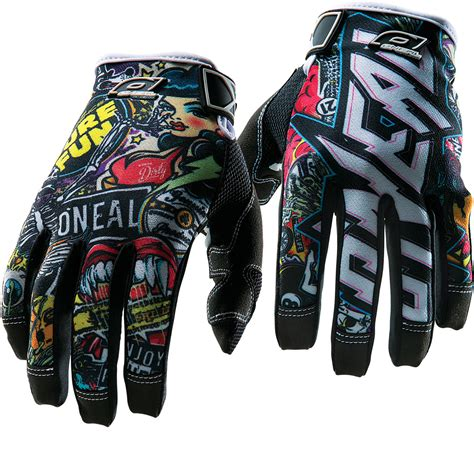 Oneal Jump Kids Crank Motocross Gloves Junior Clothing