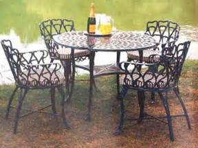 Used Wrought Iron Patio Furniture by Wrought Iron Patio Furniture Maintenance Trend Home