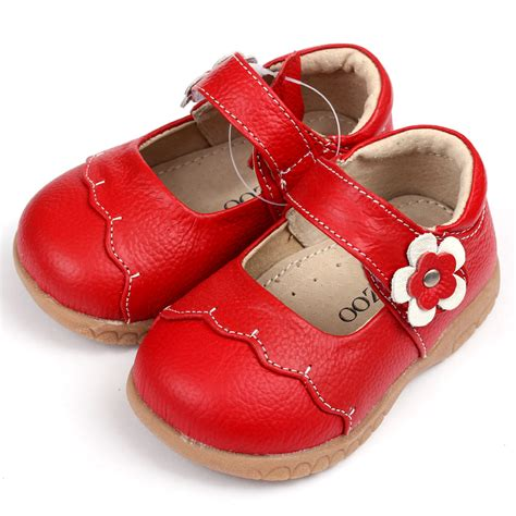 Fashion Shoe 113 3 leather shoes fashion breathable rubber sole flower baby dress shoes