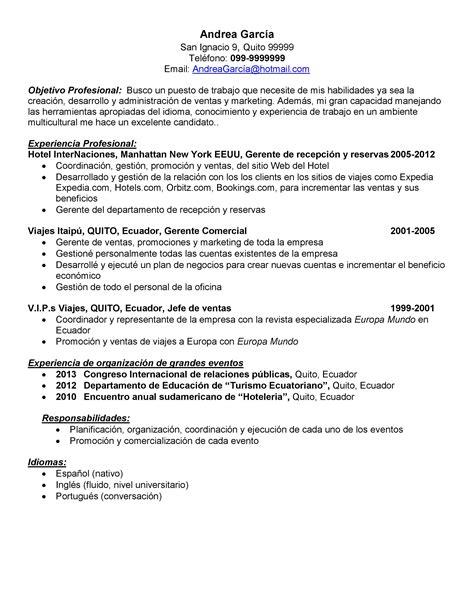 Plantillas De Curriculum Vitae Para Ventas Cv Demo Curr 237 Culum Vitae Para Promotor De Ventas Curr 237 Culum Entrevista Trabajo