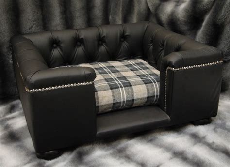 leather dog sofa real leather dog sofas luxury dog beds