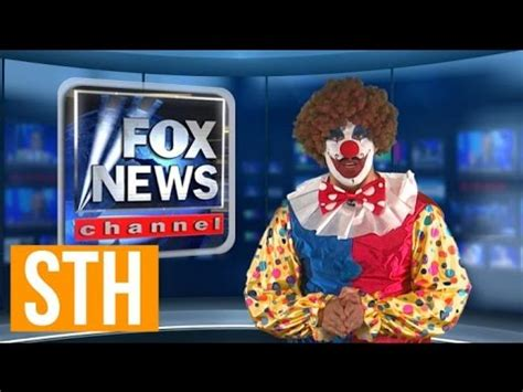 clown red fox picture bubbles the clown signs lucrative deal with fox news so that happened ora tv youtube