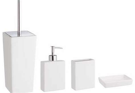 Habitat Bathroom Accessories Habitat Starter White Bathroom Accessories Set Bathroom Product Review Compare Prices Buy