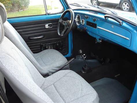 baja bug interior unusually clean 1967 volkswagen baja bug bring a trailer