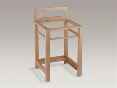 kohler bayview wood stand utility products woods and sinks on pinterest