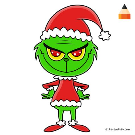 how to draw grinch youtube how to draw chibi grinch