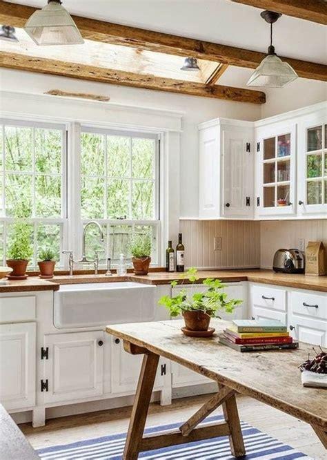 mod鑞es de cuisines 駲uip馥s 1001 conseils et id 233 es de d 233 co cagne chic fantastique