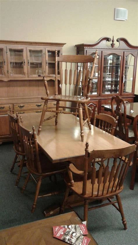 pennsylvania house dining set delmarva furniture consignment tell city maple dining set delmarva furniture consignment