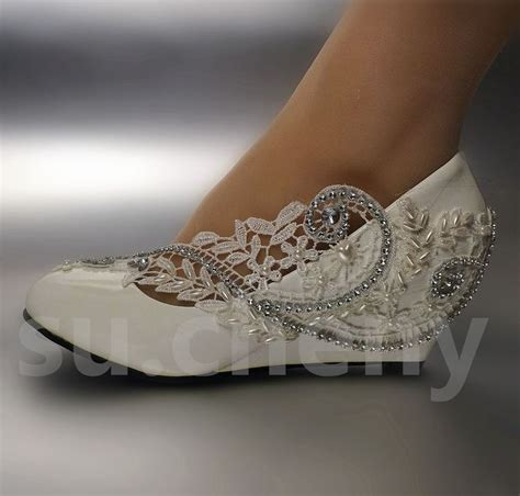 Ivory Wedding Wedges by Best 25 Shoes Ideas On