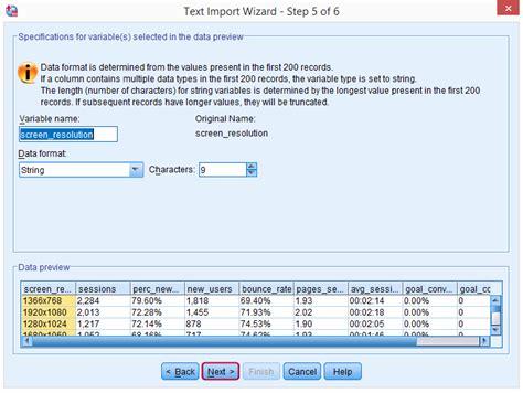 csv format data type spss syntax delete file balanceblogs