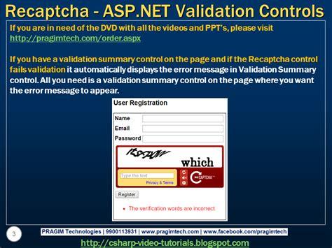 Validation Pattern In Asp Net | sql server net and c video tutorial using asp net