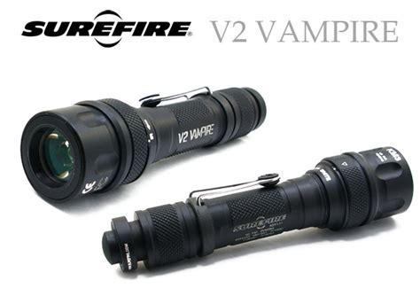 surefire v2 surefire v2 バンパイア ir white led tactical flashlight 目指せ