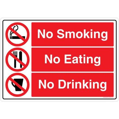no smoking sign board buy safety sign store no smoking sign board gs607 a3pc 01