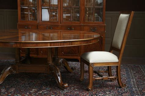 mahogany dining room table large oversized round dining table large round mahogany