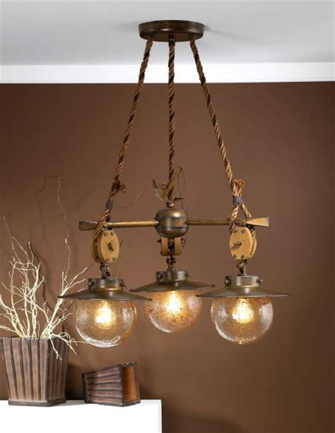 fredeco nautical chandelier tropical chandeliers by