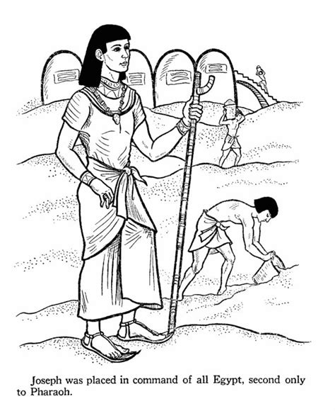 Bible Story Coloring Pages Joseph 294 best images about joseph s on