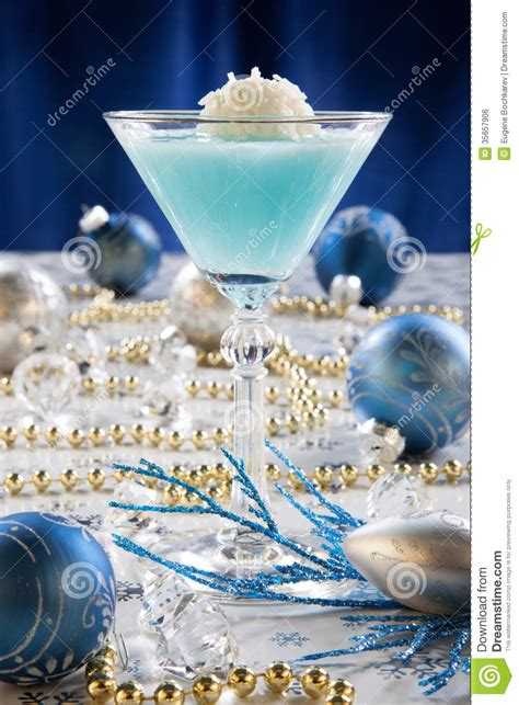 4 Best Drinks For Winter Time by Winter Cocktail Royalty Free Stock Image