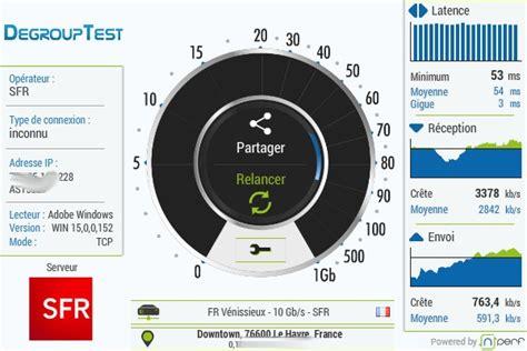 test banda adsl test adsl vitesse