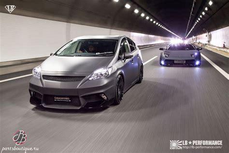 Toyota Liberty аэродинамический обвес Liberty Walk Lb Performance