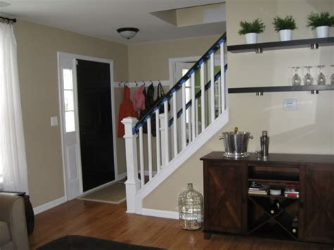 half wall staircase half wall and stairs home decor