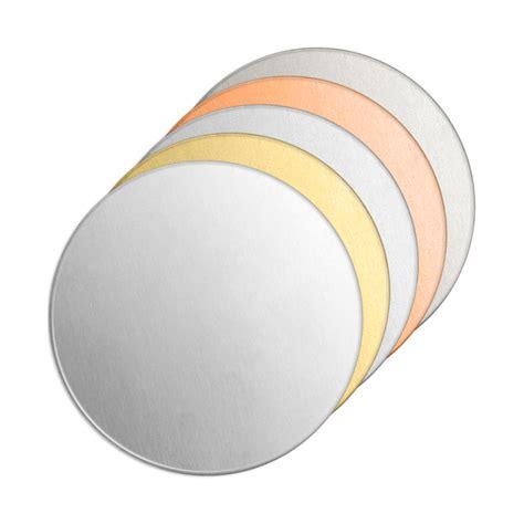 metal discs for jewelry impressart metal sting blanks jewelry craft discs