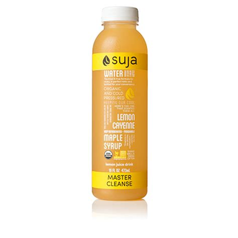 Suja Detox by Suja Master Cleanse Suja Classic Juice