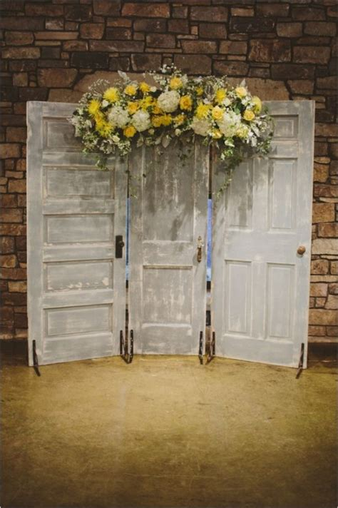Wedding Backdrop With Doors by Wedding Backdrops With Your Ceremony Decor