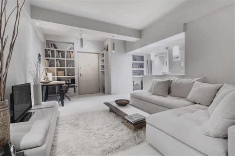 studio decoration peinture gris perle et meubles blanc cass 233 en d 233 co mini studio
