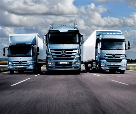 Mercedes Commercial Trucks by Mercedes Daimler Show Results Infrastructure News