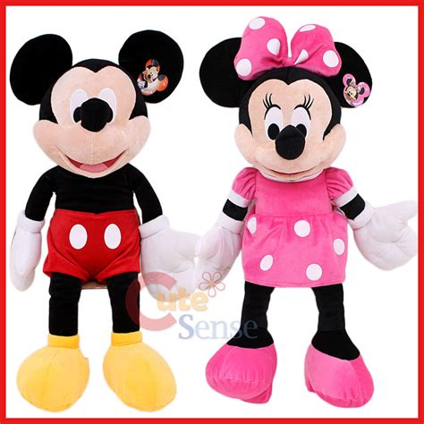 Boneka Micky Minie Jumbo disney mickey and minnie mouse plush doll jumbo size 26