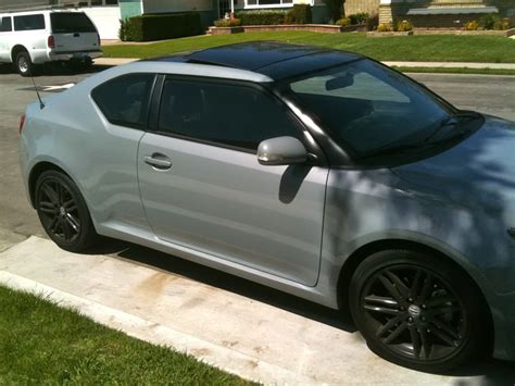 scion tc 2005 tire size stock tc2 painted rims scionlife