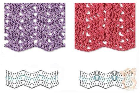 zig zag crochet stitch pattern best 8 herringbone zig zag crochet stitches for free