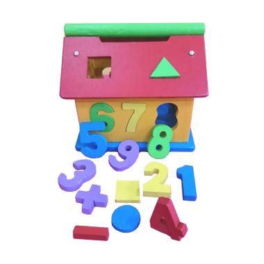 blibli rumah jual istana bintang mainan kayu rumah angka mainan anak